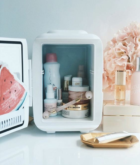 WHY YOU NEED A COSMETIC FRIDGE NOW!