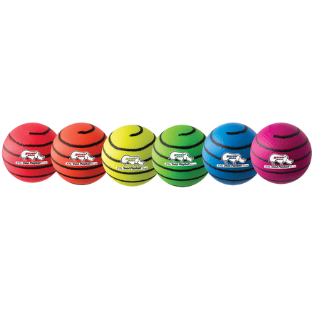 "6"" Foam Playball Neon Swirl Set"