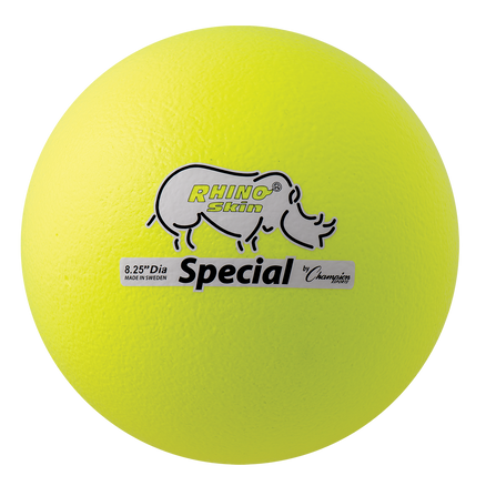"8.5"" Special Dodgeball, Neon Yellow"