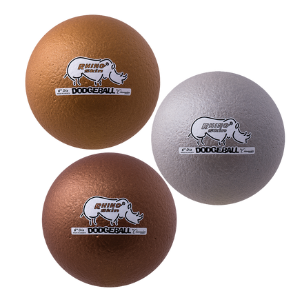 "6"" Metallic Dodgeball Set"