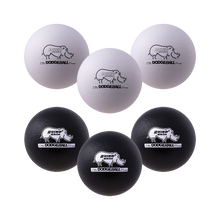 "Load image into Gallery viewer, 7"" Black and White Dodgeball Set"