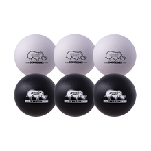 "Load image into Gallery viewer, 8"" Black and White Dodgeball Set"