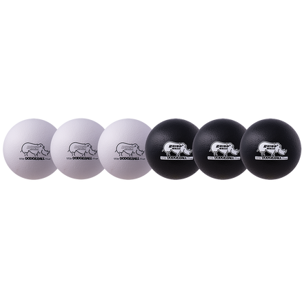 "8"" Black and White Dodgeball Set"
