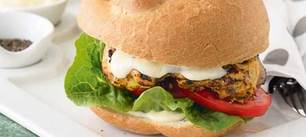 Portuguese Chicken Burger