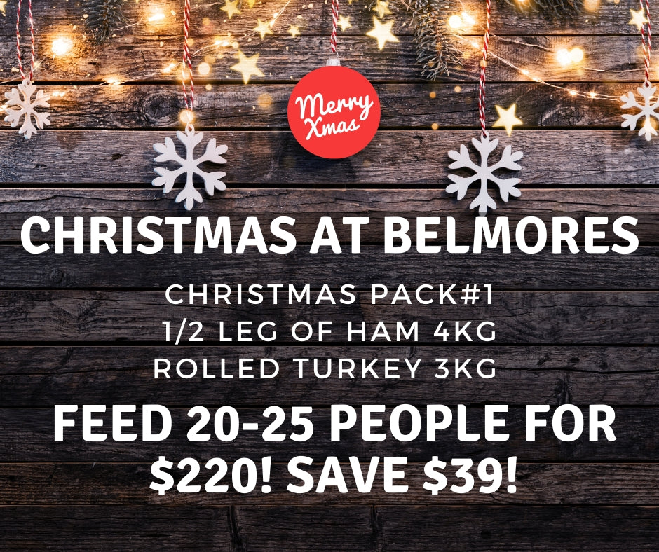 Christmas Feed The Family Pack - Belmore Biodynamic Butcher