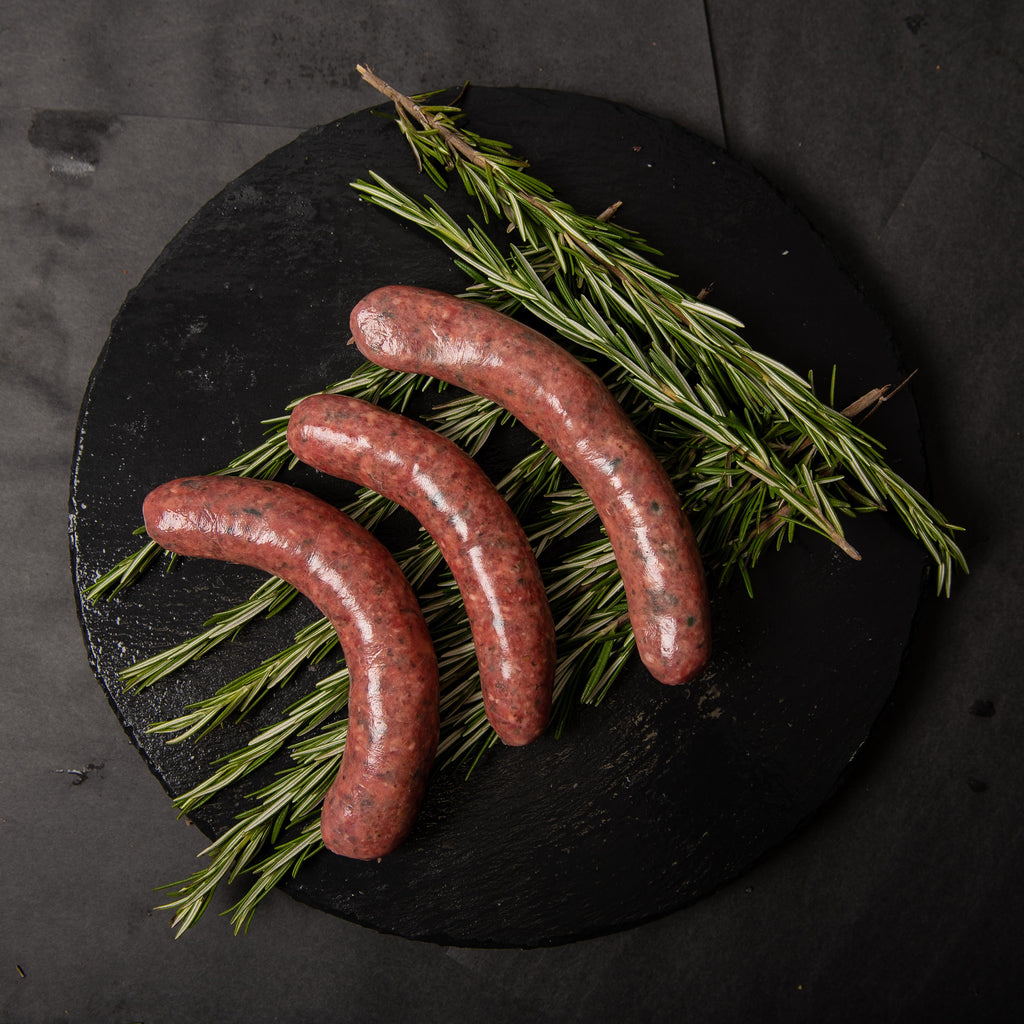 Gluten Free Lamb Mint & Rosemary Sausages - Belmore Biodynamic Butcher
