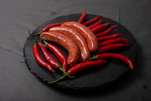 Gluten Free Spicy Merguez Sausages - Belmore Biodynamic Butcher