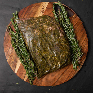 Greek Butterflied Leg of lamb (Boneless) - Belmore Biodynamic Butcher