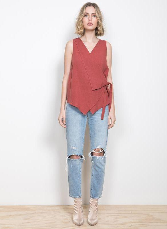Wish - Endless Love Wrap Top