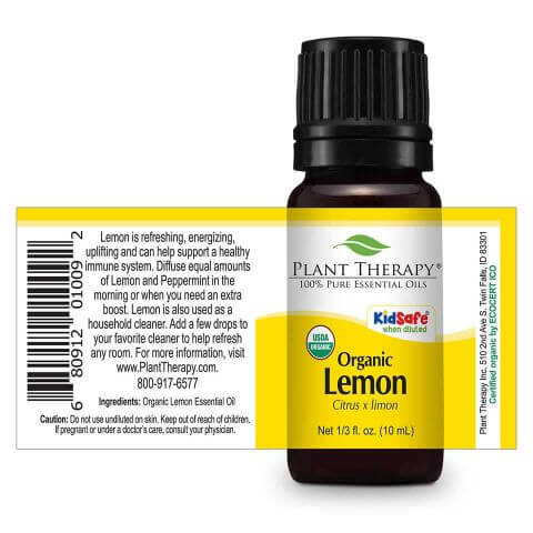 Plant Therapy | Organic Lemon Essential Oil