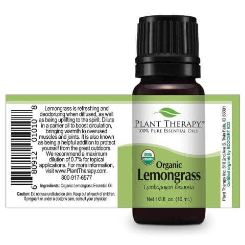 Plant Therapy | Organic Lemongrass Essential Oil
