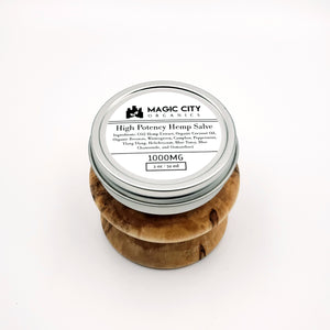 MCO High Potency Hemp Salve || 1000MG - Magic City Organics