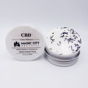 Magic City Organics CBD || Bath Puck (25MG)