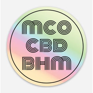MCO || Holographic Sticker - Magic City Organics