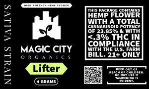Magic City Primo || Hemp Flower - Lifter