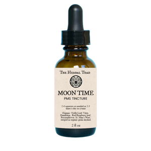 Moon Time Tincture || PMS - Magic City Organics