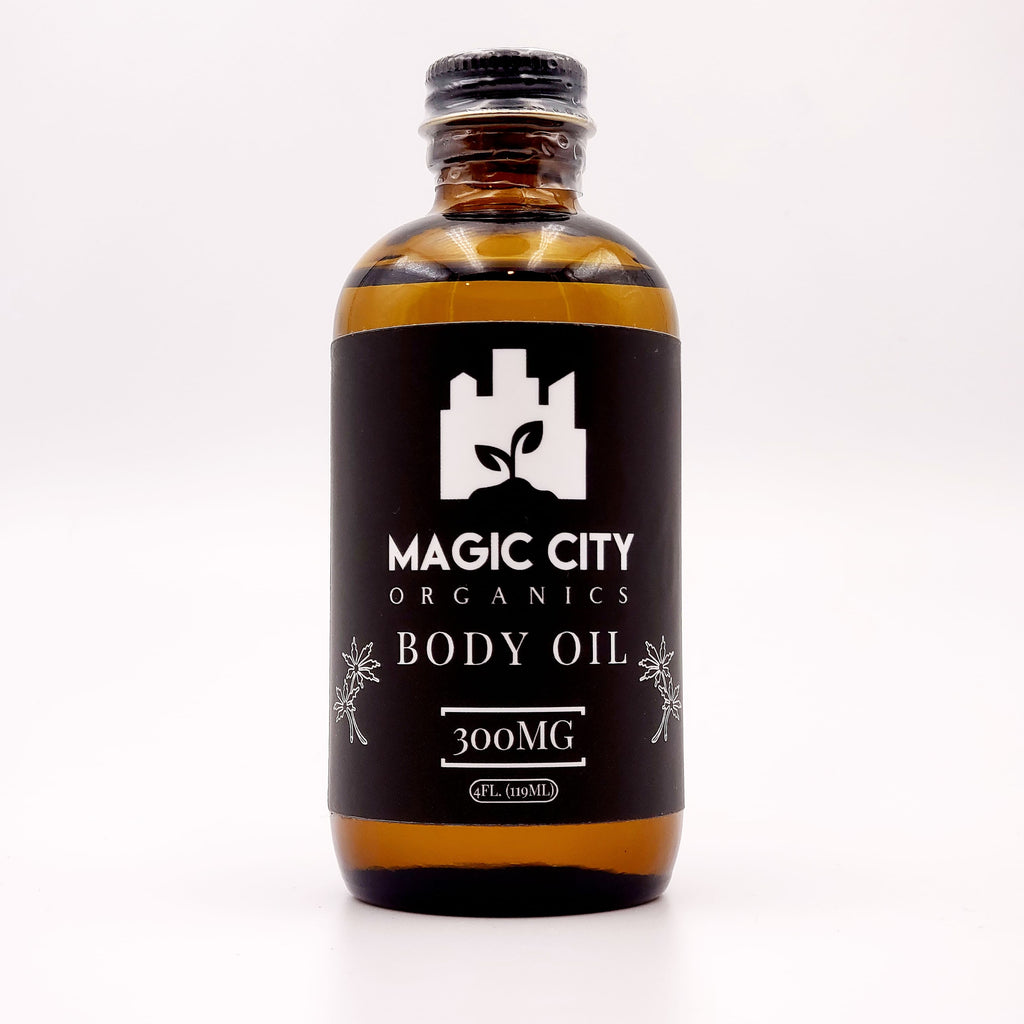 Magic City Organics || 300MG CBD Body/Massage Oil