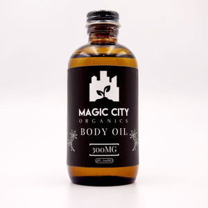 Magic City Organics || 300MG CBD Muscle Blend Oil