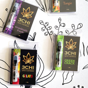 3CHI || Delta 8 Vape -Variety 3 Pack - Magic City Organics