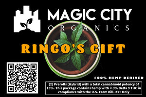 Magic City Rolls – Ringo's Gift (2-pack) - Magic City Organics