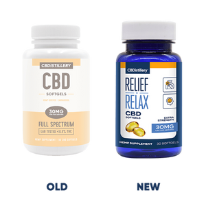 CBDistillery Full Spectrum CBD Softgels – 30mg – 30 Count