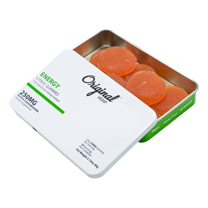 Original Hemp Co |  CBD Energy Gummies 250mg