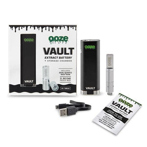 Ooze Vault Extract Battery with Storage Chamber - Magic City Organics