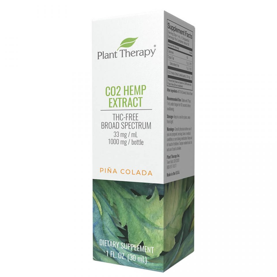 Plant Therapy Broad Spectrum | Pina Colada 1000 mg/30 mL