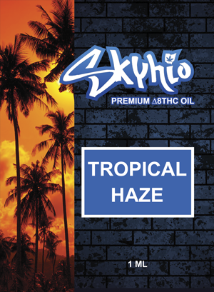 SKYHIO Δ8Vape Cartridge 1ml - CDT & Botanical Terpenes - Magic City Organics