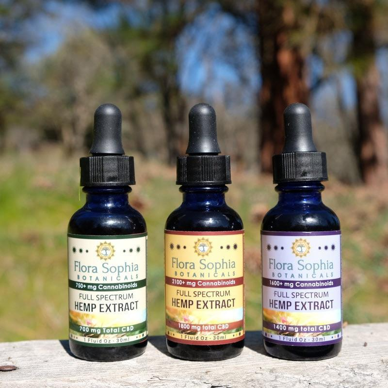 Flora Sophia Botanicals | Full Spectrum Hemp CBD Oil - Magic City Organics