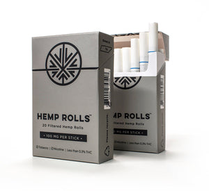 Hemp Rolls 2.0 - Organic Hemp Cigarettes 20CT - Magic City Organics