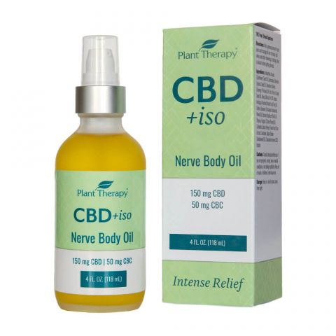 Plant Therapy || CBD +iso Nerve Body Oil