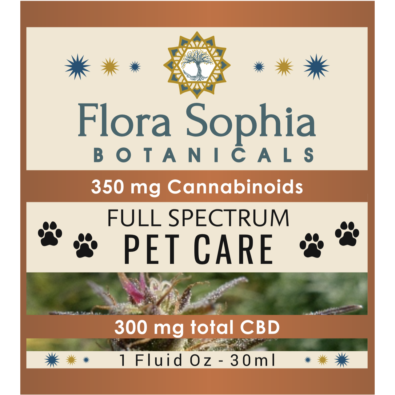 Flora Sophia Botanicals | Full Spectrum Pet CBD 350MG