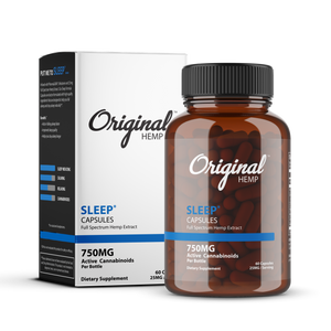 Original Hemp Co | Sleep Capsules (750mg) | Full Spectrum