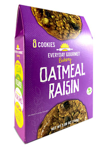 Oatmeal Raisin Cookies - 2 BOXES