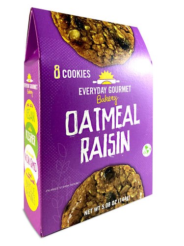 Oatmeal Raisin Cookies - 1 BOX