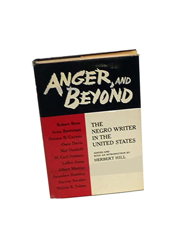 Anger and Beyond the Negro Writer in the United States