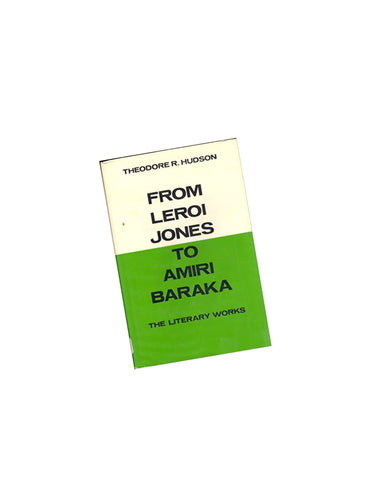 From Leroi Jones to Amiri Baraka