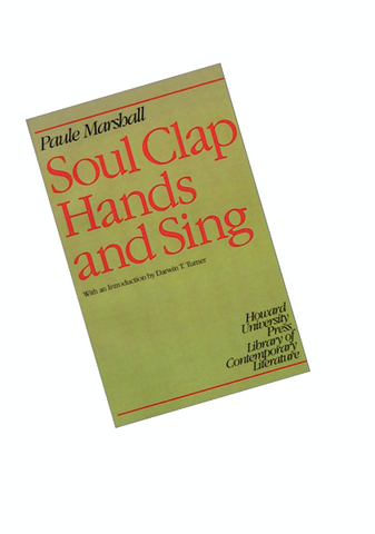 Soul Clap Hands and Sing Paule Marshall