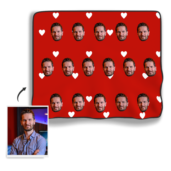 Face Blanket - Heart