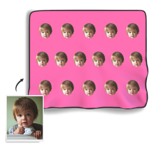 Face Photo Blanket - Colorful