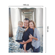 Photo Shower Curtain Custom Backdrop Polyester Waterproof