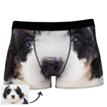 Custom Face Man Boxer Seamless Overall View