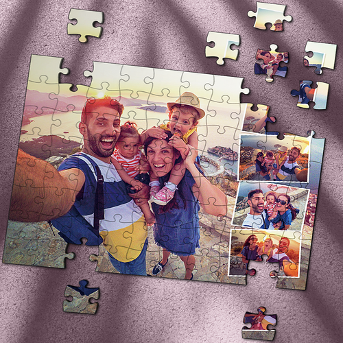 Custom Photo Jigsaw Puzzle Best Gifts For Family - 35-1000 pieces