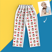 Custom Face Pajamas - Heart