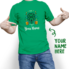 Custom St. Patrick's Day Lucky 2020 With Your Name T-shirt