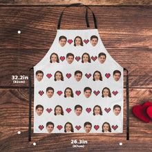 Custom Face Apron -Sweet Heart