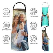 Custom Kitchen Apron With Photo Mother's Day Gifts - Love Mom Love Family