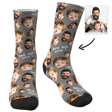 Custom Face Socks To The Best Dad-MyFaceSocks
