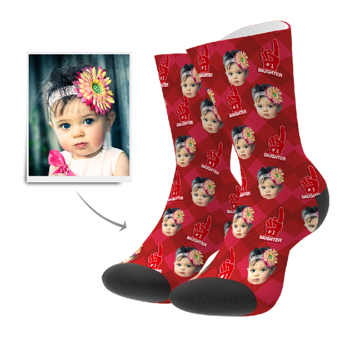 Custom Socks - #1 Daughter Fan